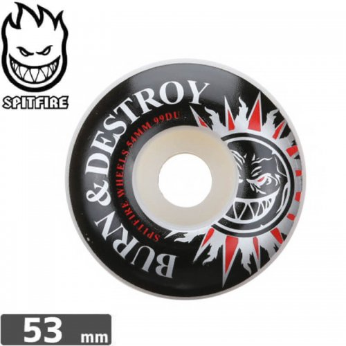 【SPITFIRE スピットファイア ウィール】BURN AND DESTROY 99A【53mm】NO213