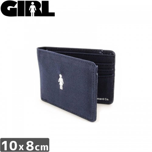 【GIRL ガールスケートボード 財布】OG CANVAS WALLET NO13