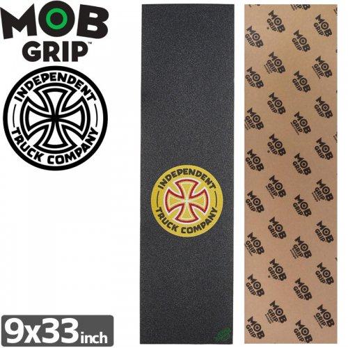 【モブグリップ MOB GRIP デッキテープ】T/C SINGLE SHEET【INDEPENDENT】【9 x 33】NO167
