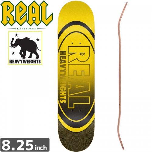 【リアル REAL スケボーデッキ】HEAVY WEIGHT DECK[8.2インチ]NO138