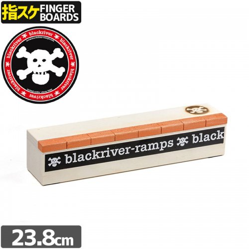 【ブラックリバー BLACKRIVER 指スケ】+BLACKRIVER-RAMPS+ BRICK BOX【23.8cm】NO34