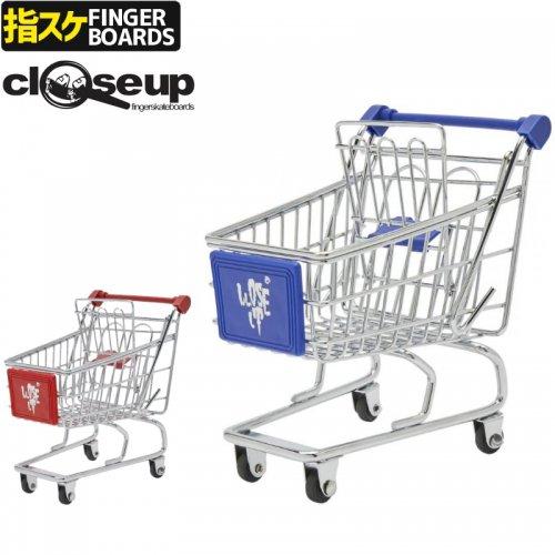 【クローズアップ CLOSE UP フィンガーボード】SHOPPING CART 収納 カーブ カート【2カラー】NO7
