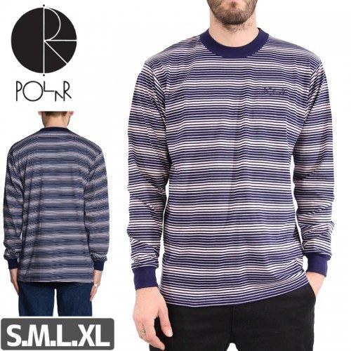 【POLAR ポーラー スケボー ロング Tシャツ】GRADIENT L/S TEE NO10