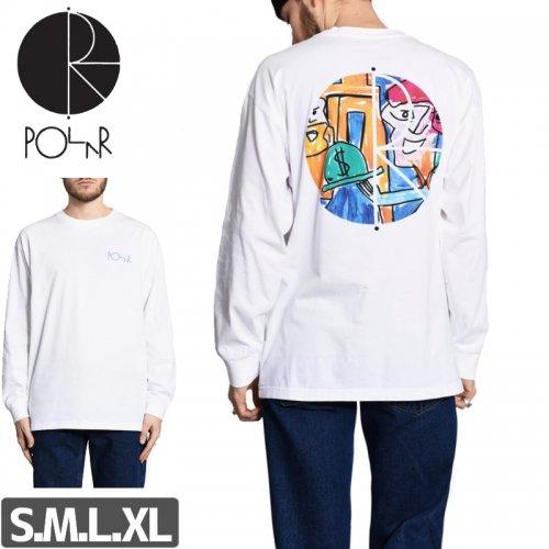 【POLAR ポーラー スケボー ロング Tシャツ】STENSTROM L/S TEE NO11