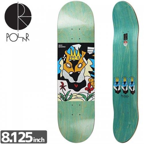 【POLAR ポーラー スケボー デッキ】BOSERIO LION KING DECK[8.125インチ]NO24