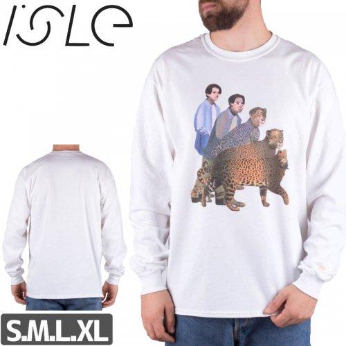1週間限定SALE!【ISLE  スケボー ロング Tシャツ】LARIC KNOX L/S TEE NO3