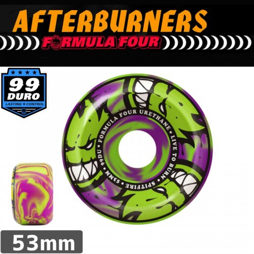 【SPITFIRE スピットファイア ウィール】FORMULA FOUR AFTERBURNER【53mm】NO214