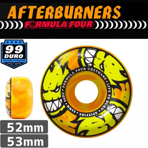 【SPITFIRE スピットファイア ウィール】FORMULA FOUR AFTERBURNER【52mm】【53mm】NO215