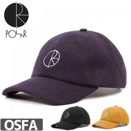 【POLAR ポーラー スケボー キャップ】17W BOILED WOOL CAP NO10