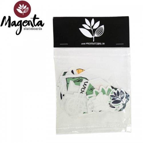 【MAGENTA マゼンタ スケボー ステッカー】MAGENTA STICKER PACK【22枚入り】NO1