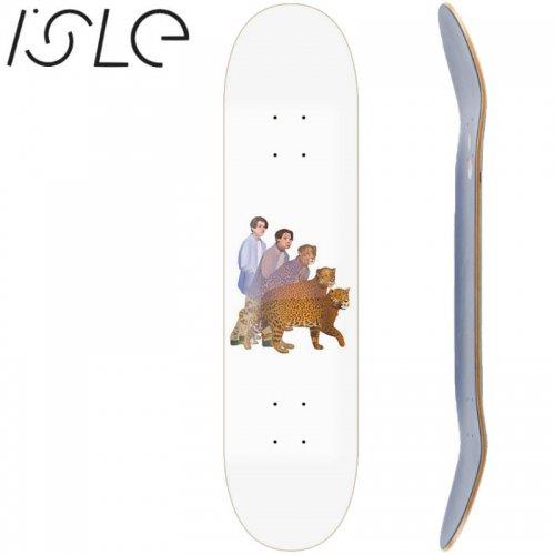 【ISLE アイル スケボー デッキ】OLIVER LARIC ARTIST SERIES DECK[8.1インチ]NO5
