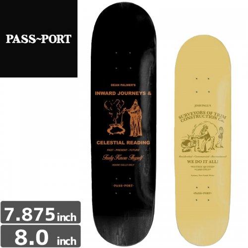 【PASS~PORT パスポート スケートボード デッキ】WORK LOAD DECK[7.8インチ][8.0インチ]NO5
