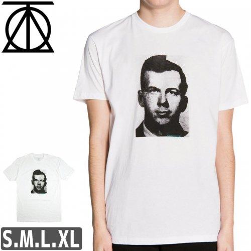 【スケボー Tシャツ THEORIES セオリーズ】HARVEY & LEE TEE【ホワイト】NO01