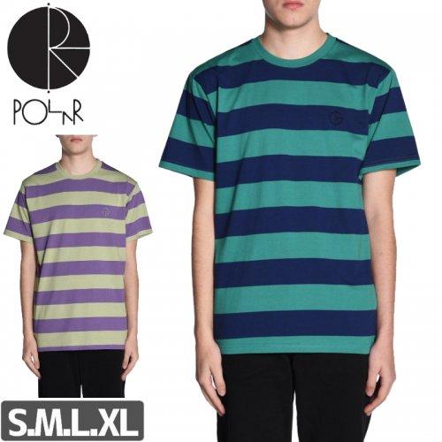 【POLAR ポーラー スケボー Tシャツ】91' STRIPE TEE【2カラー】NO11