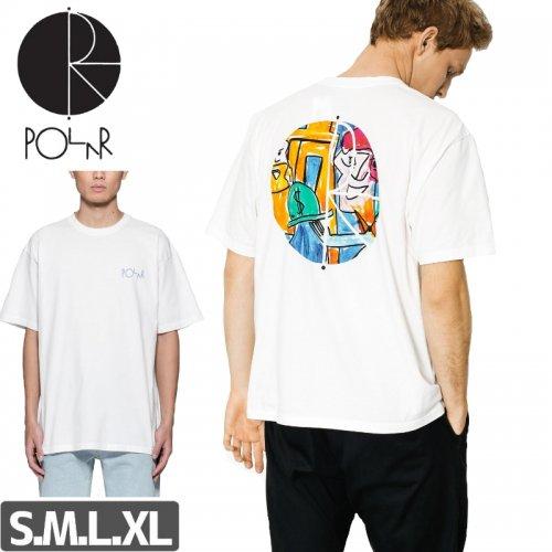 【POLAR ポーラー スケボー Tシャツ】SENSTROM FILL LOGO TEE NO13