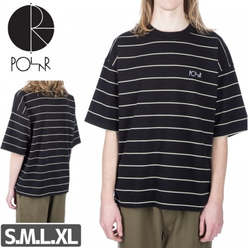 【POLAR ポーラー スケボー Tシャツ】CHECKERED SURF TEE NO16