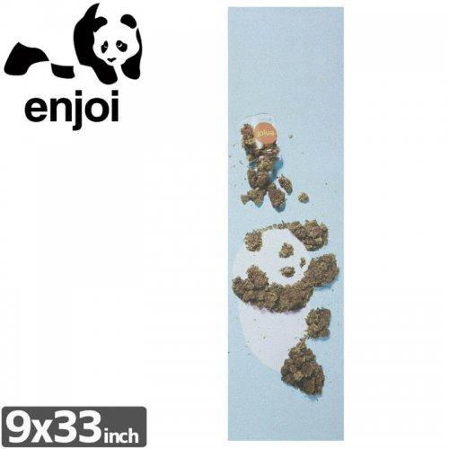 【ENJOI エンジョイ スケボー デッキテープ】Weed Panda Grip Tape【9 x 33】NO6