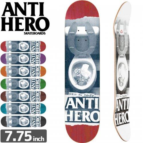 【ANTI HERO アンタイヒーロー デッキ】SHIT ON MONEY DECK[7.75インチ]NO109