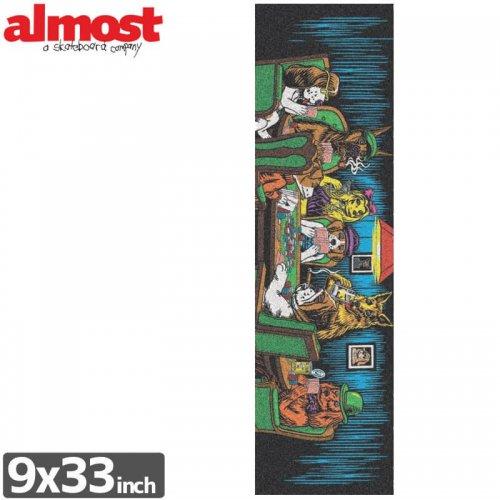 【オルモスト ALMOST スケボー デッキテープ】Skateboards Poker Griptape【9 x 33】NO6