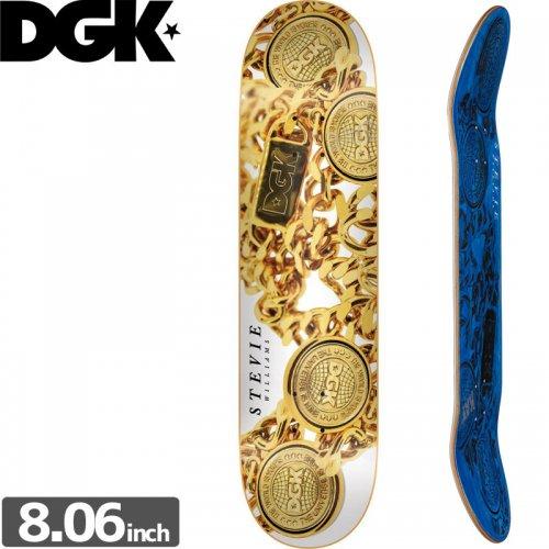 【ディージーケー DGK スケボー デッキ】MEDALLION WILLIAMS DECK[8.06インチ]NO301