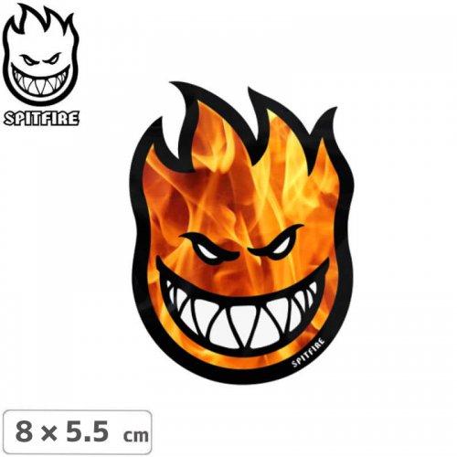 【スピットファイア SPITFIRE スケボー ステッカー】BIGHEAD HELLFIRE【8cmx5.5cm】NO89