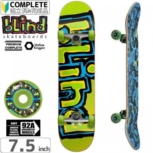 【ブラインド BLIND スケートボード コンプリート】OG LOGO FADE PREMIUM COMPLETE 92A[7.5インチ]NO108