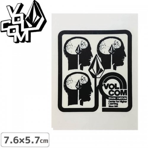 【ボルコム VOLCOM ステッカー】STICKER【7.6cm x 5.7cm】NO319