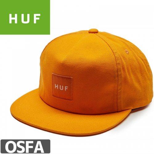 【HUF ハフ スケートボード キャップ】BOX LOGO SNAPBACK WASHED HAT NO68