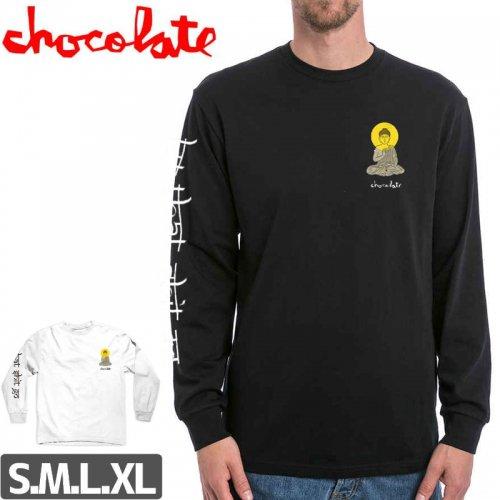 【チョコレート CHOCOLATE スケボー ロングTシャツ】BUDDHA L/S 長袖【2カラー】NO9