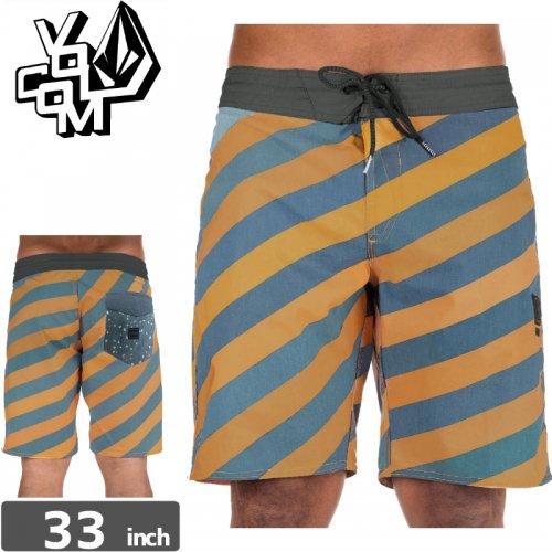 【ボルコム VOLCOM ボードショーツ】STRIPEY STONEY SHORT NO4