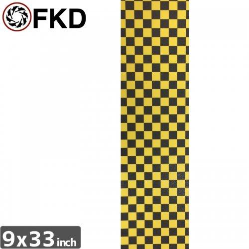 【エフケーディー FKD スケボー デッキテープ】CHECKER GRIPTAPE【9 x 33】NO10