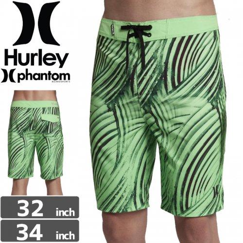【ハーレー HURLEY ボードショーツ】PHANTOM CREST BOARDSHORTS【グリーン】NO22