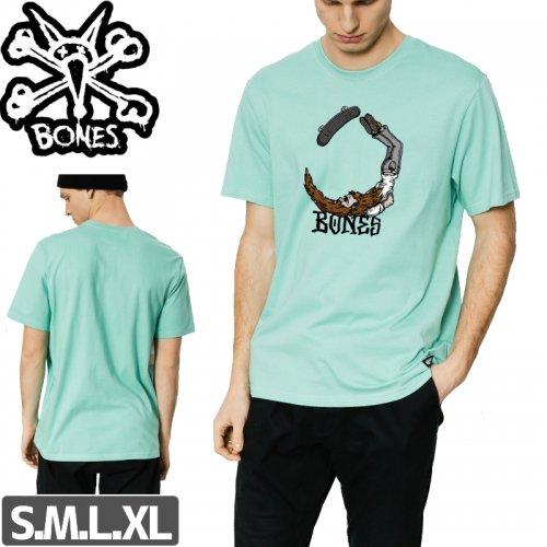 【ボーンズ BONES スケボー Tシャツ】SCORPION T-SHIRTS【ミントグリーン】NO35