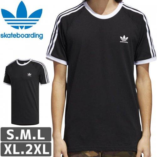【アディダス Tシャツ ADIDAS SKATEBOARDING 】CALIFORNIA 2.0 TEE【ブラック】NO45