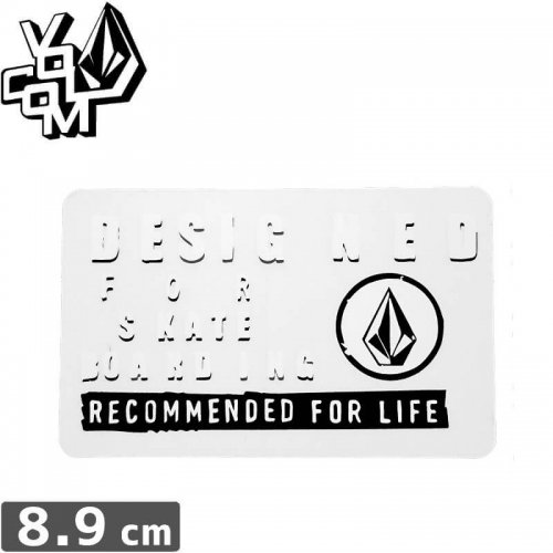 【ボルコム VOLCOM ステッカー】STICKER【5.5cm x 8.9cm】NO325
