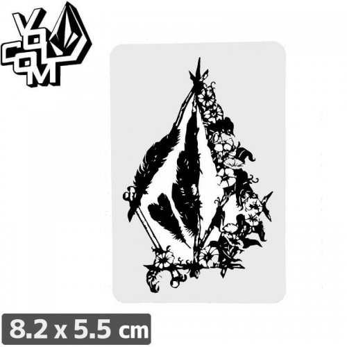 【ボルコム VOLCOM ステッカー】STICKER【8.2cm x 5.5cm】NO326