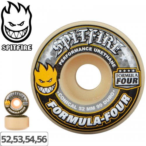 【SPITFIRE スピットファイア ウィール】FORMULA FOUR CONICAL 99A【52mm】NO220
