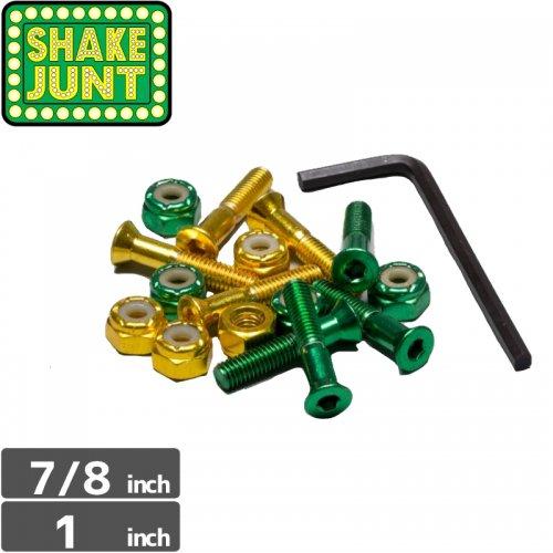 【シェイクジャント SHAKE JUNT ハードウェア】SHAKE JUNT BOLTS【7/8インチ】【1インチ】NO7