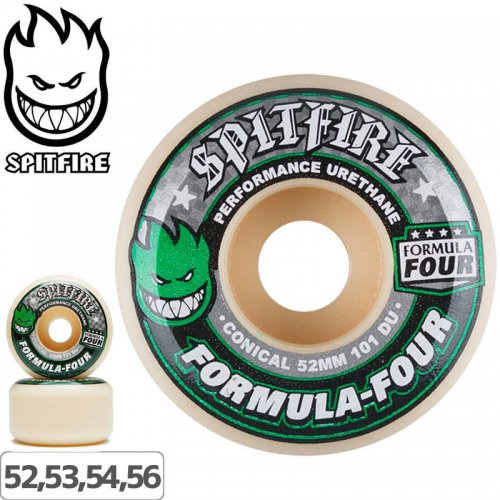 【SPITFIRE スピットファイア ウィール】FORMULA FOUR CONICAL 101A【52mm】【53mm】【54mm】【56mm】NO221