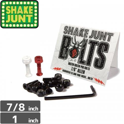【シェイクジャント SHAKE JUNT ハードウェア】DUSTIN DOLLIN PRO BOLTS【7/8インチ】【六角】NO9