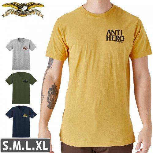 【アンタイヒーロー ANTIHERO スケボーTシャツ】LIL BLACK HERO T-SHIRT【4カラー】NO91
