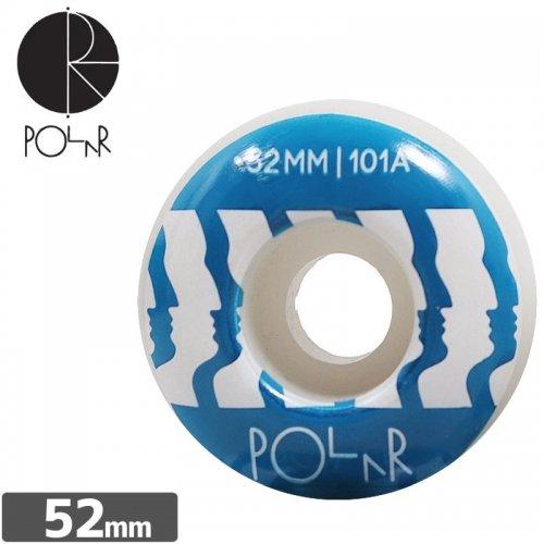 【POLAR ポーラー スケボー ウィール】TEAM FACE WHEEL【52mm 101A】NO1