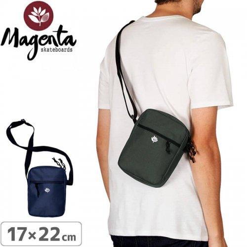 【マゼンタ MAGENTA スケボー バッグ】XL POUCH BAG【ブラック】NO1