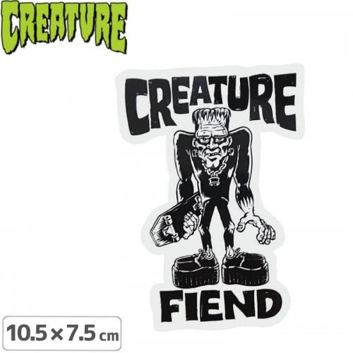 【クリーチャー CREATURE スケボー ステッカー】FRANKENFIEND STICKER【10.5cmx7.5cm】NO38