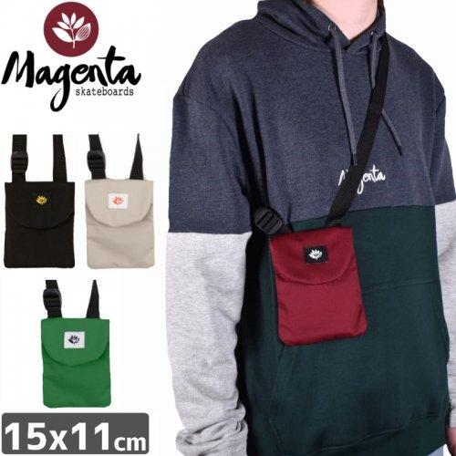 【MAGENTA マゼンタ スケボー ポーチ】POUCH BAG【レッド】【グレー】NO3