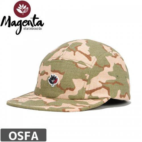【MAGENTA マゼンタ スケボー キャップ】CAMO 5PANEL CAP【迷彩】NO2