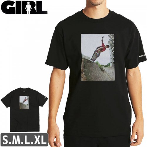 【ガール GIRL スケボー Tシャツ】CRAILTAP GONZ 80'S PARTY T-SHIRT NO297