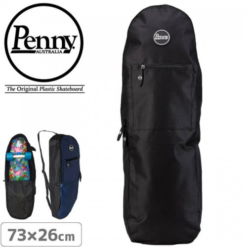 【ペニー PENNY スケボー キャリーバッグ】 ADVENTURE PACK【ブラック・ネイビー】NO2