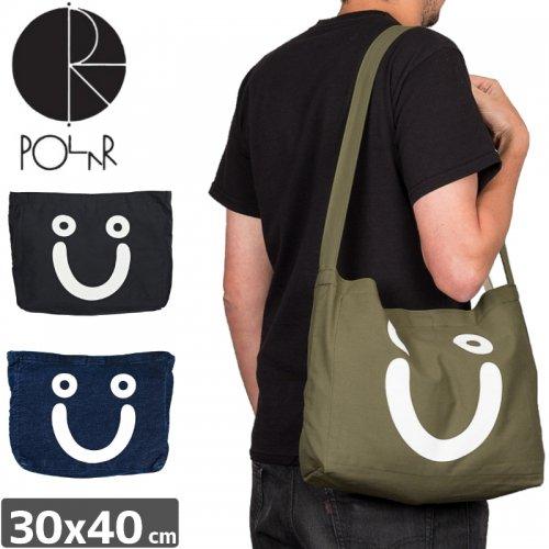 【POLAR ポーラー スケボー トートバッグ】HAPPY SAD TOTE BAG【3カラー】NO2