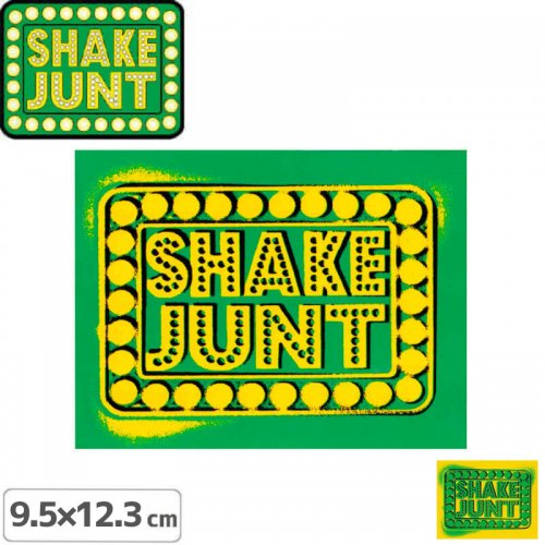 【シェークジャント SHAKE JUNT STICKER ステッカー】BOX SPRAY【9.5cm x 12.3cm】NO50